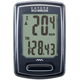 CatEye Velo Wireless CC-VT230W Ciclocomputer, black
